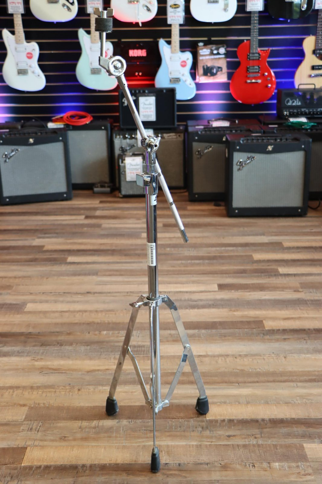 USED Sound Percussion Single-Braced Boom Cymbal Stand