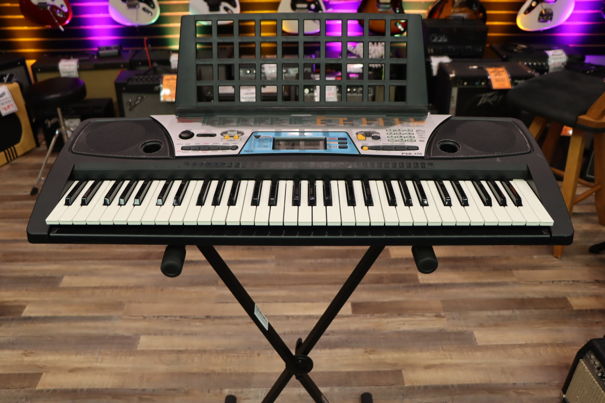 USED Yamaha PSR-170 Student Model 61-Key Keyboard