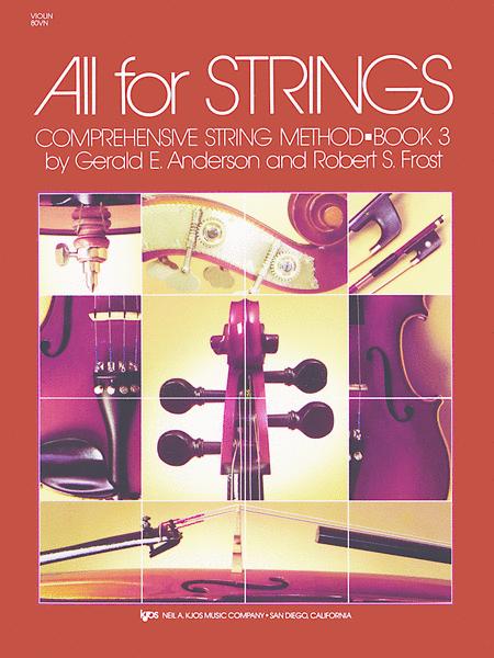 All for Strings Book 3, Comprehensive String Method (Violin)