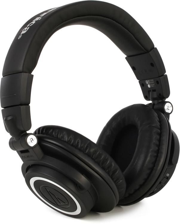 Audio-Technica ATH-M50xBT Bluetooth Wireless Over-Ear Headphones