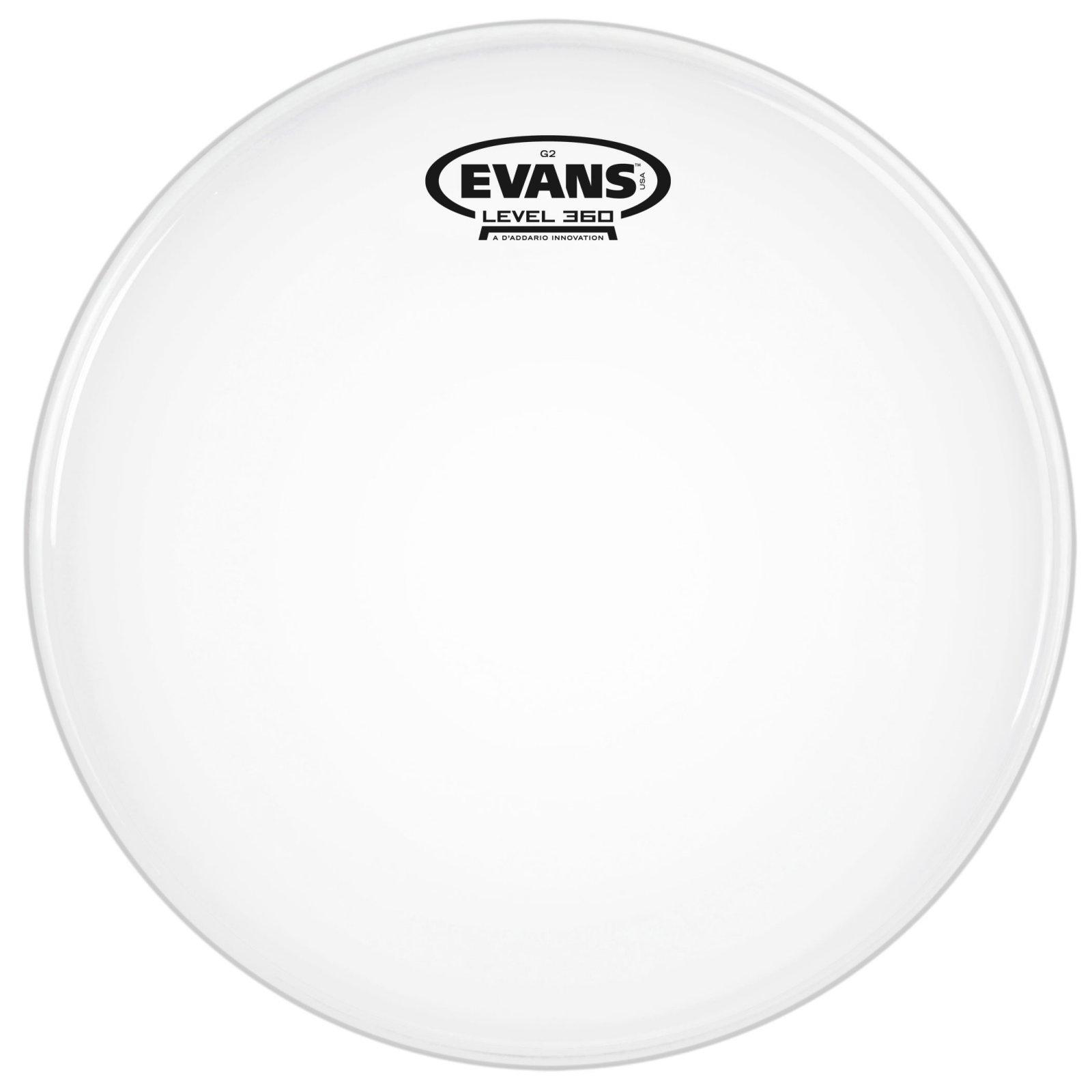 Evans 10 Genera G2 Coated White Drum Head