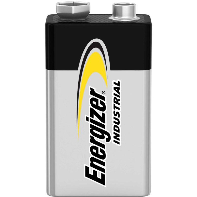 Energizer Industrial 9V Battery / Good Through 12/2025