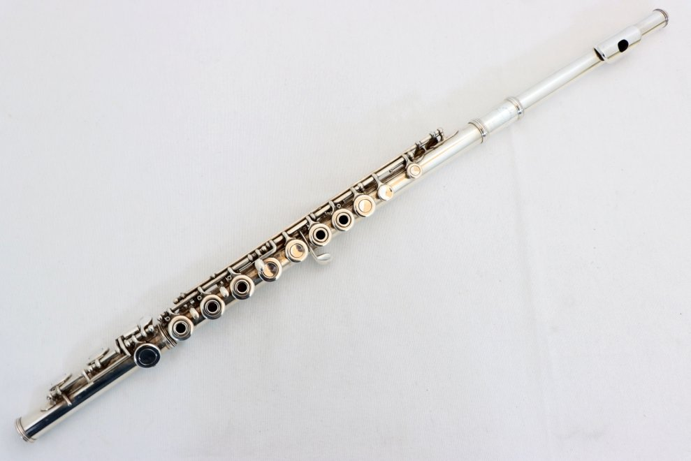USED Armstrong Open-Hole Flute Model 103 with Hard Case, NEEDS OVERHAUL
