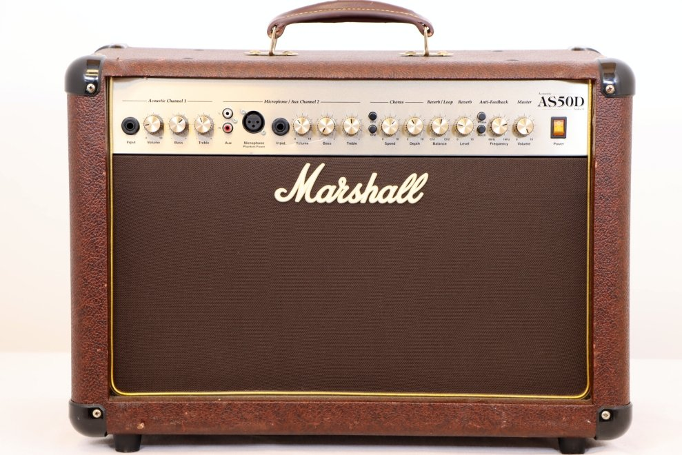 USED Marshall AS50D Acoustic Amplifier 50 Watts