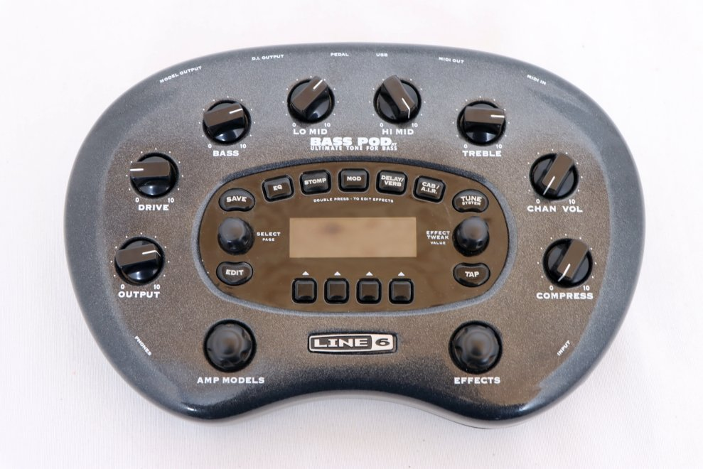 USED Line 6 Bass POD with Soft Case