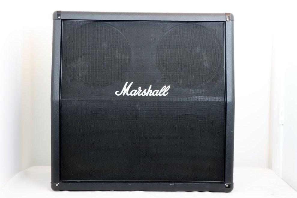 USED Marshall 4x12 Marshall Slant Cabinet M412A