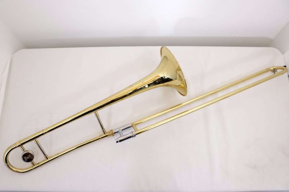 USED Bach Student Model Trombone with Hard Case, Plays Great/Has Some Dents