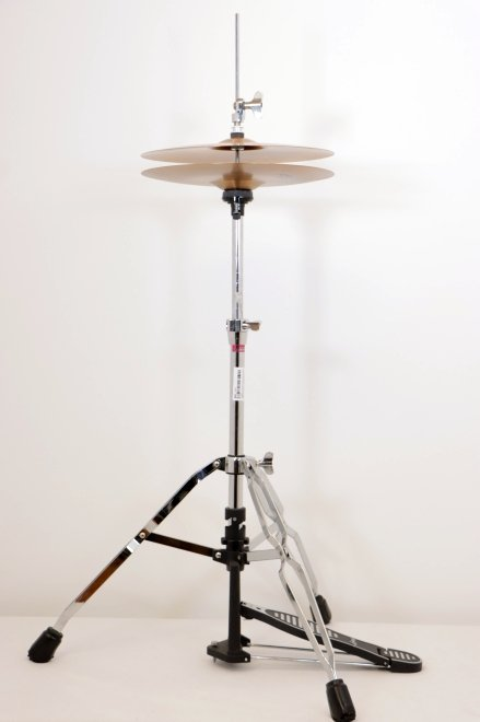USED Ludwig Hi-Hat Stand with NEW Ludwig 13 Element Hi-Hat Cymbals