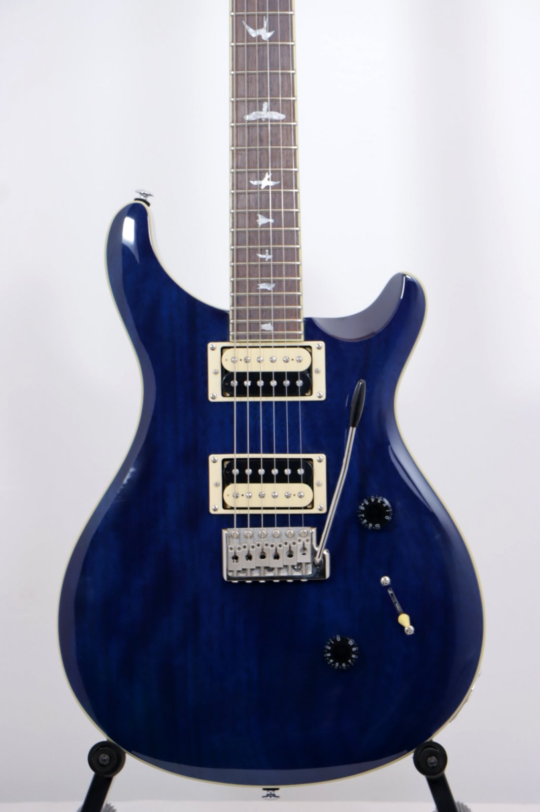 PRS SE Standard 24 Trans Blue (No Case Included)