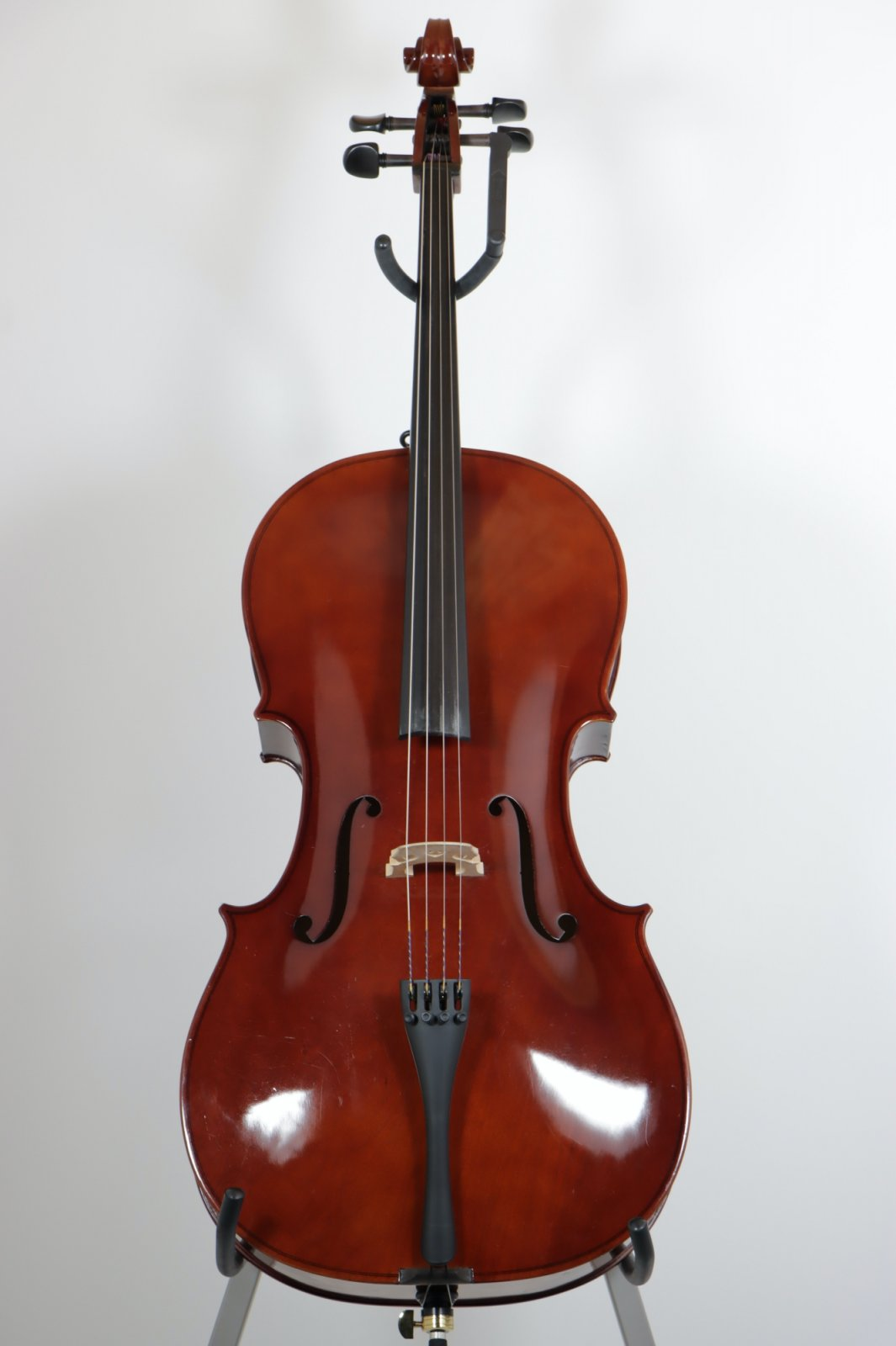 USED Samuel Shen 4/4 Student Cello Model SC80 with Case and Bow