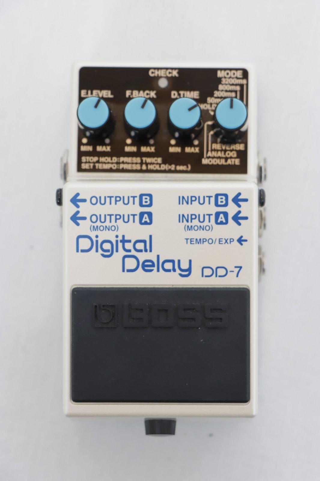 USED Boss DD-7 Digital Delay Pedal with Original Box