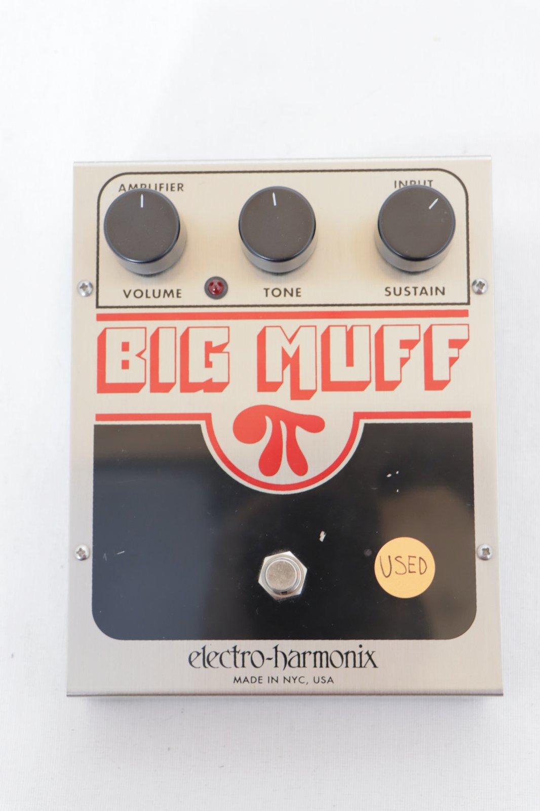 USED Electro-Harmonix Big Muff Pi Fuzz Pedal