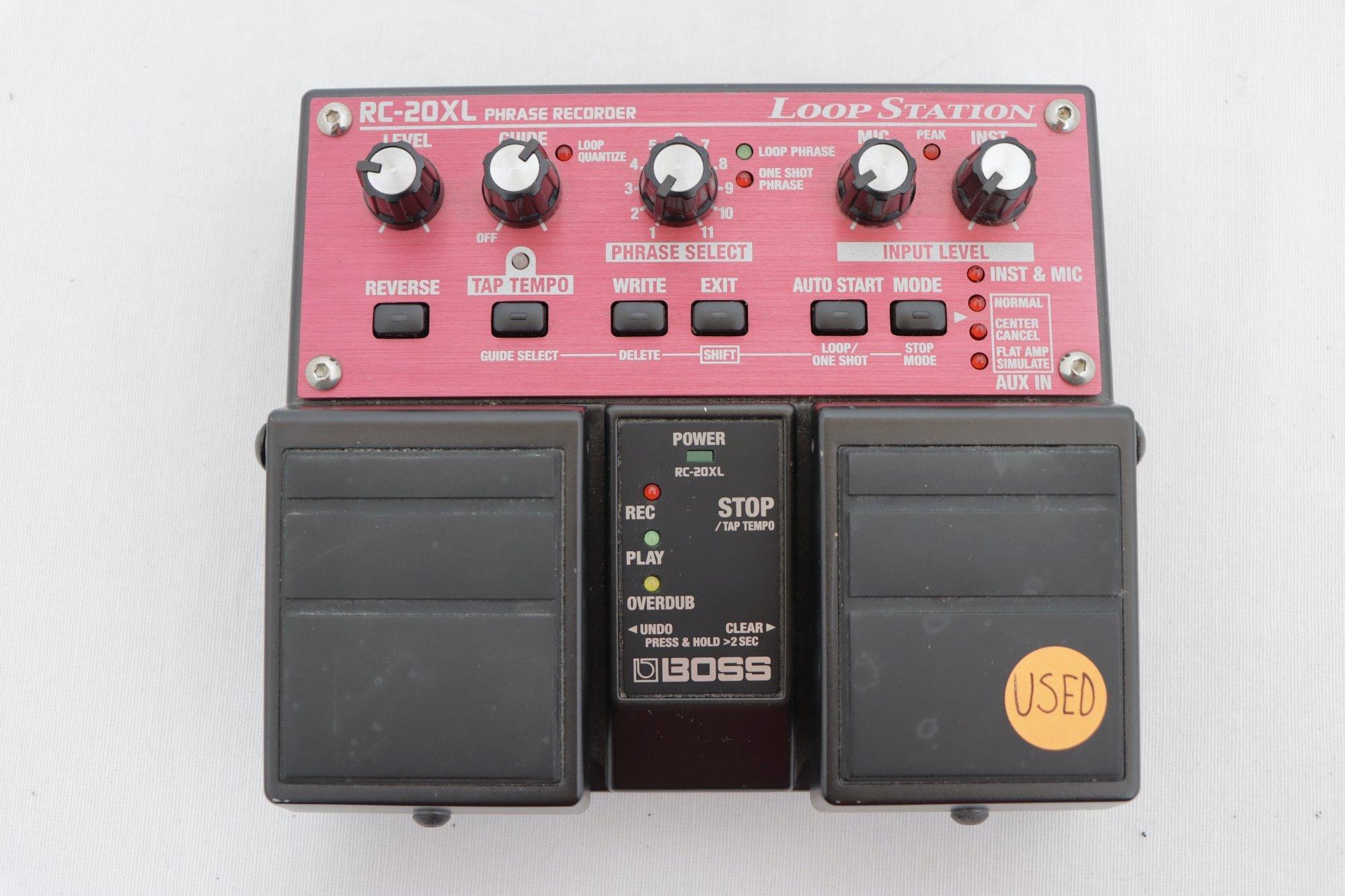 USED Boss Twin Pedal Looper RC20XL
