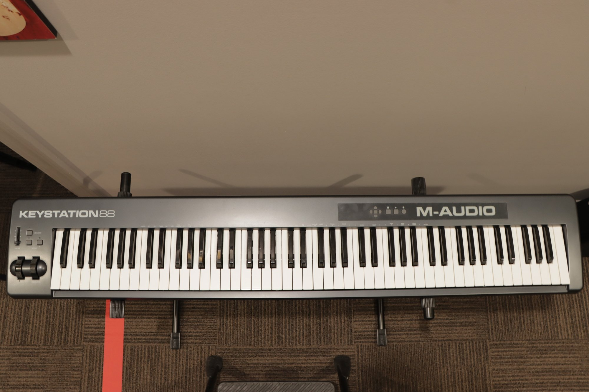 USED M-Audio Keystation 88 Midi Controller Keyboard