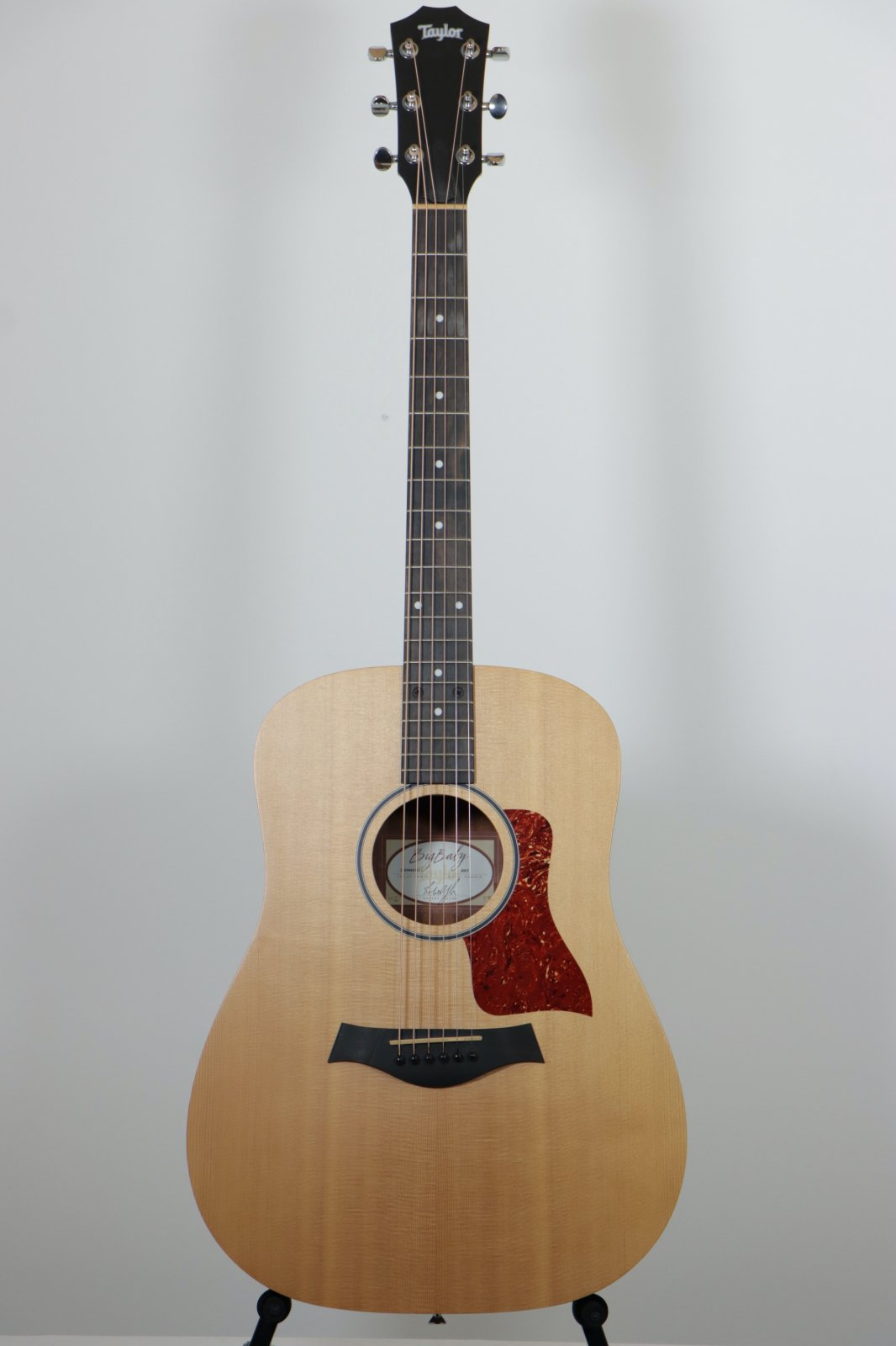 USED 2014 Taylor BBT Big Baby Acoustic Guitar with Taylor Gig Bag / Hairline Top Crack