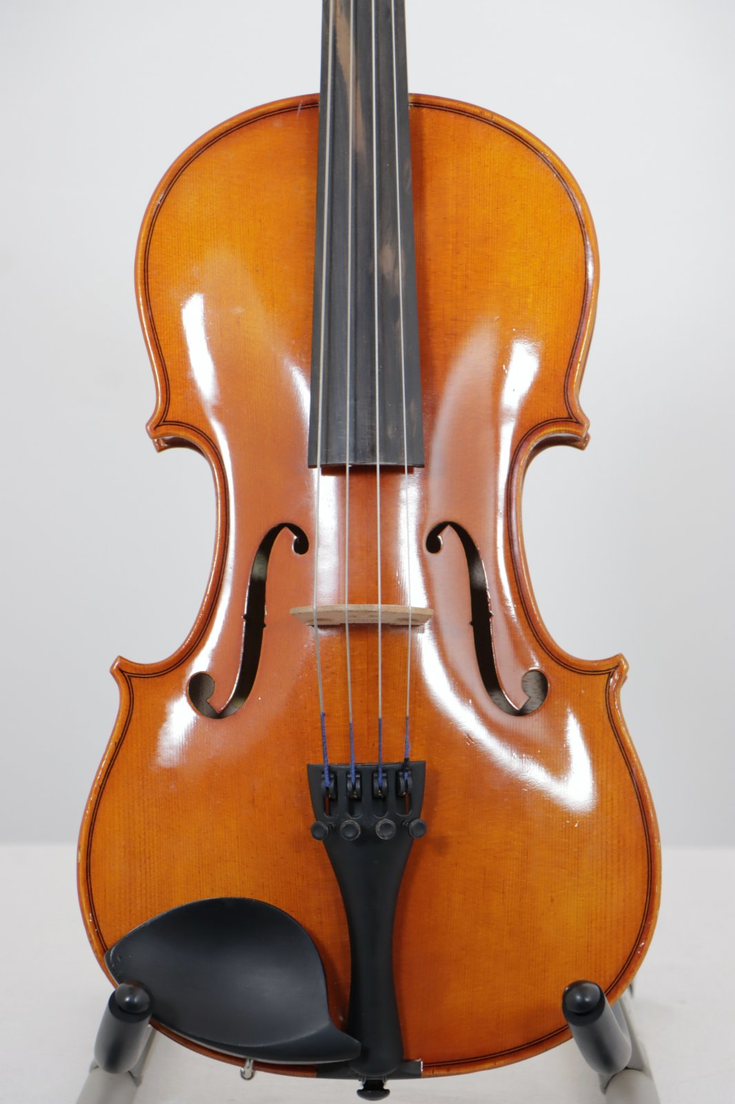 USED 2014 14 Strobel Student Viola Outfit with Case, Bow, Shoulder Sponge, and Rosin