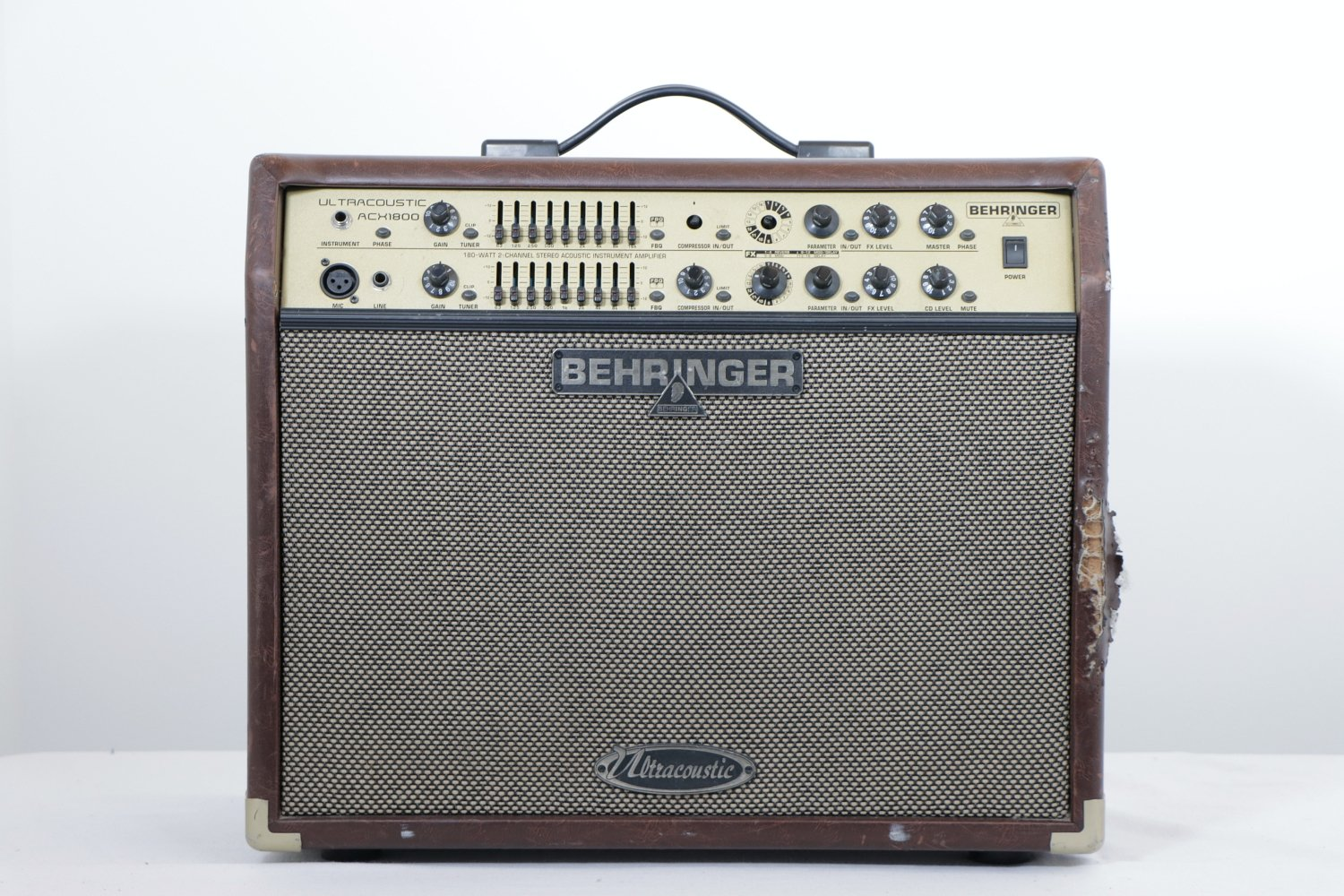 USED Behringer Ultracoustic ACX1800 - 180-watt 2x8 Stereo Acoustic Combo