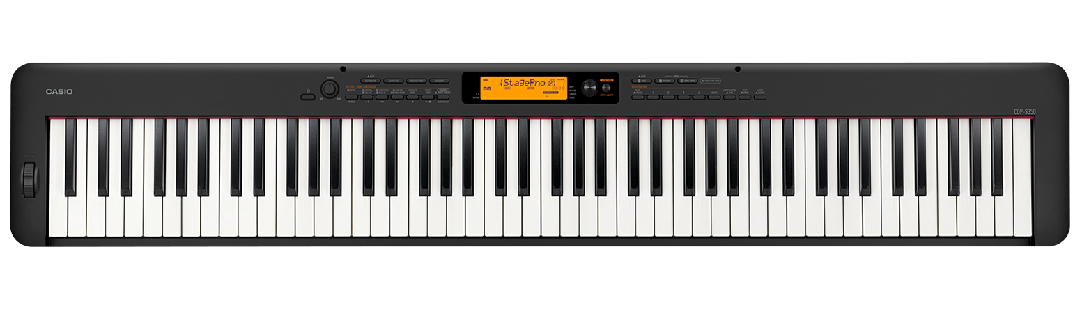 Casio CDP-S350 Compact Digital Piano - Black