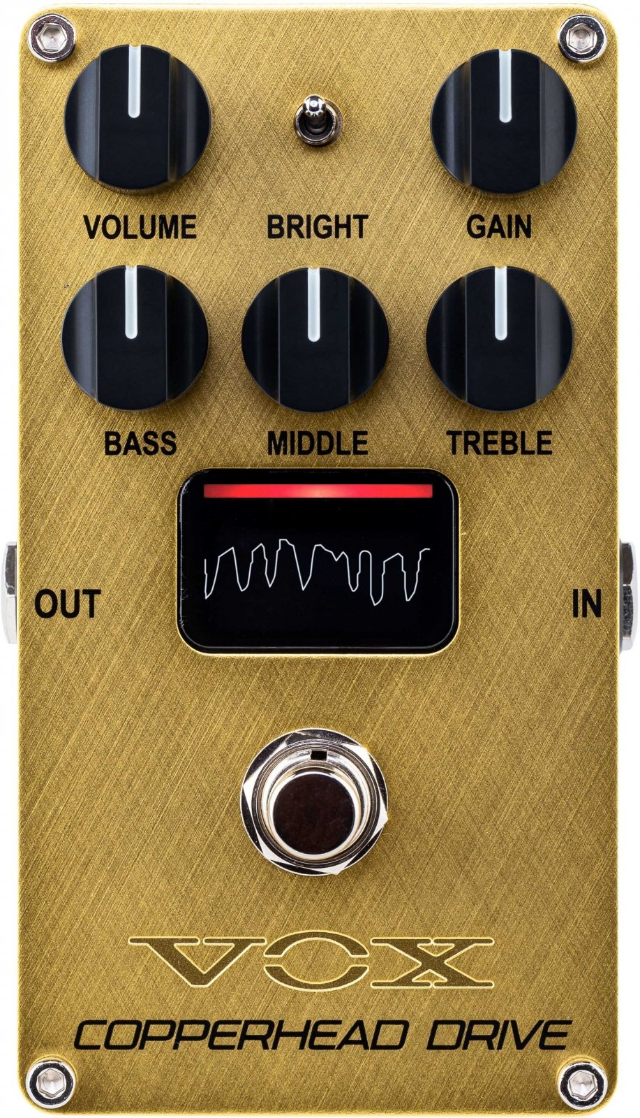 Vox Copperhead Marshall-like Overdrive Pedal with NuTube VE-CD