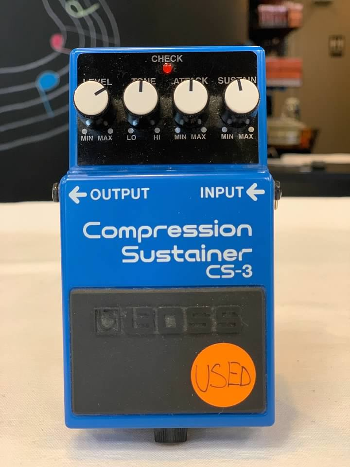 USED Boss CS-3 Compressor Sustainer Pedal, Excellent Condition