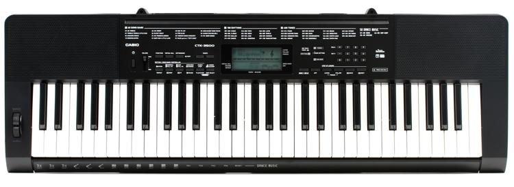 Casio CTK3500 61-Key Touch Sensitive Portable Keyboard