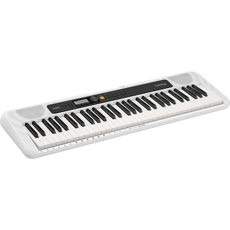 Casio Casiotone CT-S200 61-key Portable Arranger Keyboard - White