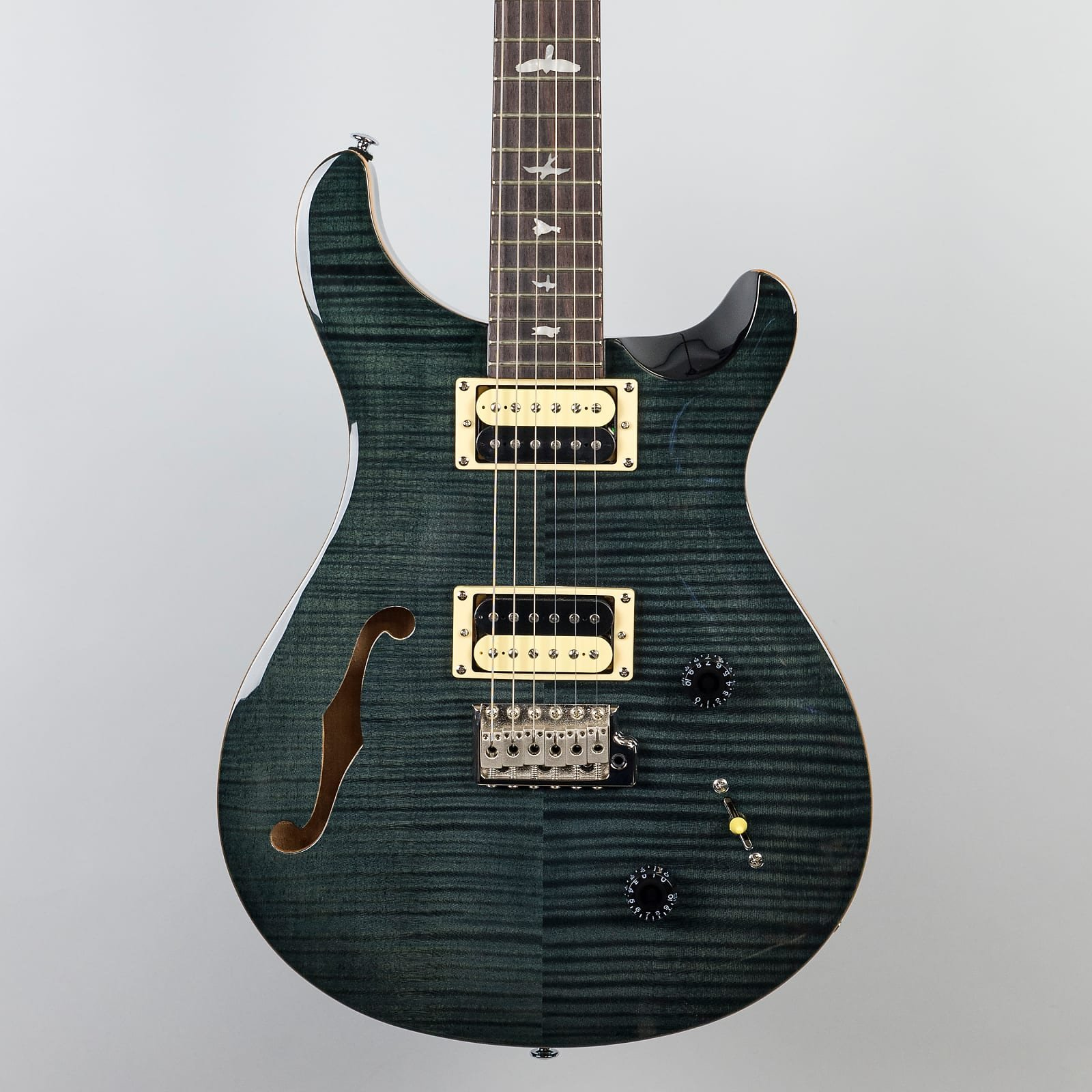 PRS SE Custom 22 Semi-Hollow Grey Black