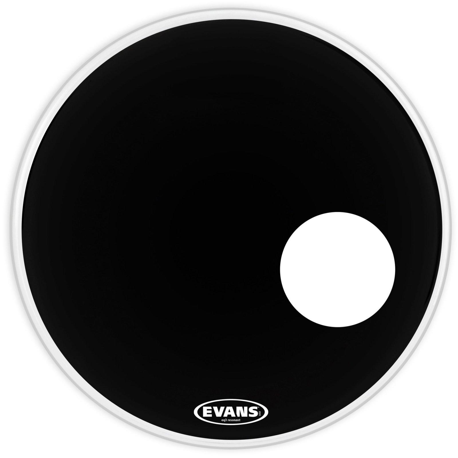 Evans Bass 20 Genera EQ3 Resonant Black