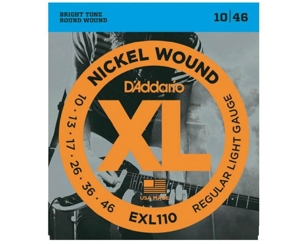 D'Addario XL Nickel Wound Electric Light .010-.046