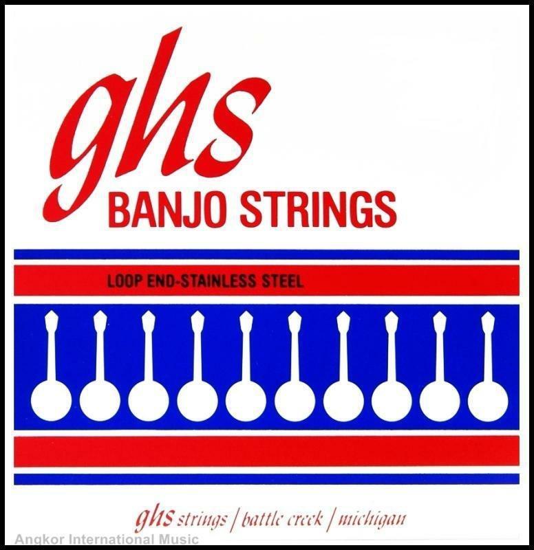 GHS Plectrum Banjo 4-String Set Light