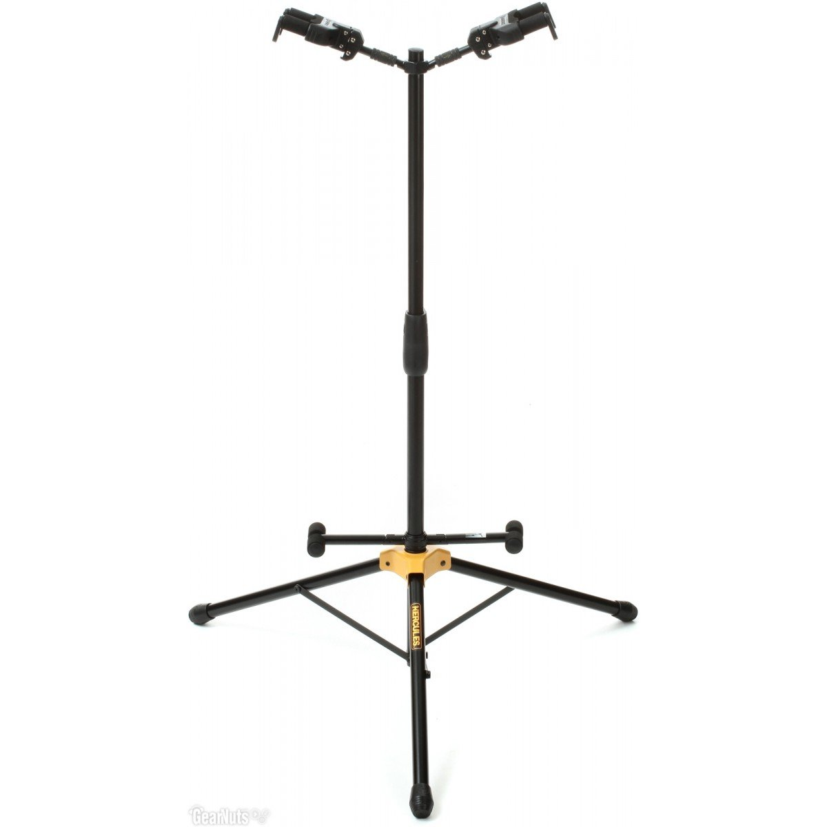 Hercules A/G (auto grip) Duo Guitar Stand