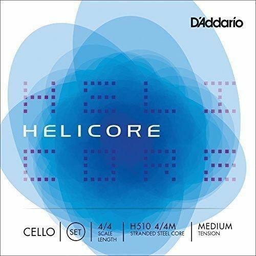 D'Addario Helicore 4/4 Cello String Set Medium