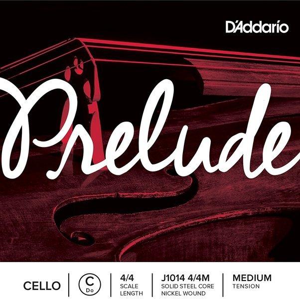 D'Addario Prelude 4/4 Cello C String Medium Tension