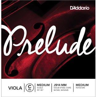 D'Addario Prelude Viola C String, Medium Scale, Medium Tension