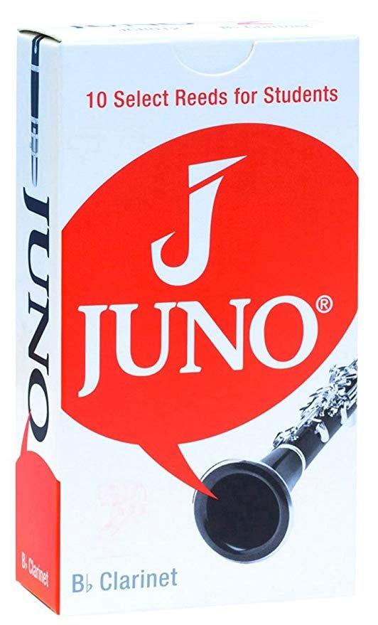 Juno Bb Clarinet #2.5 Reeds - Box of 10