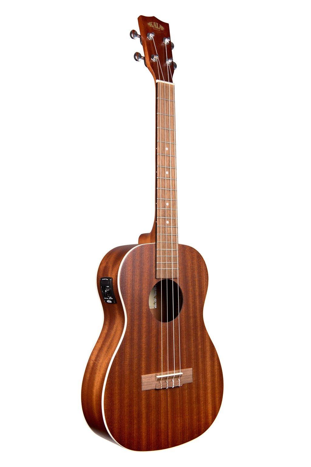Kala Satin Mahogany Acoustic/Electric Baritone Ukulele w/EQ