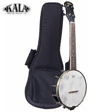 Kala Black Concert Banjo Ukulele w/Bag