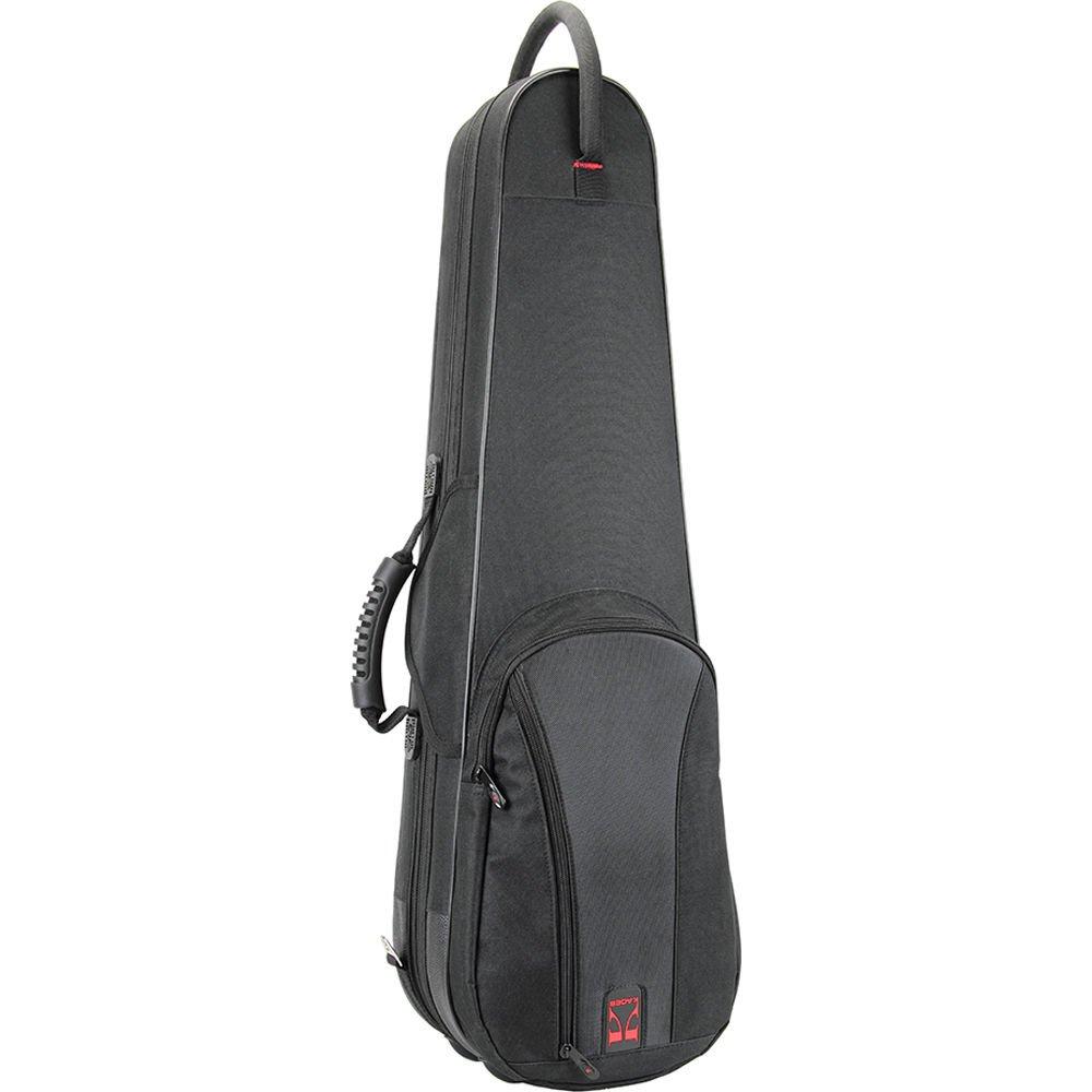Kaces 3/4 Violin Polyfoam Case - Black