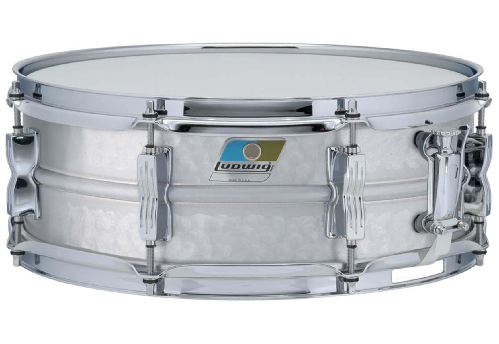 Ludwig 5 x 14  Hammered Acrolite Snare