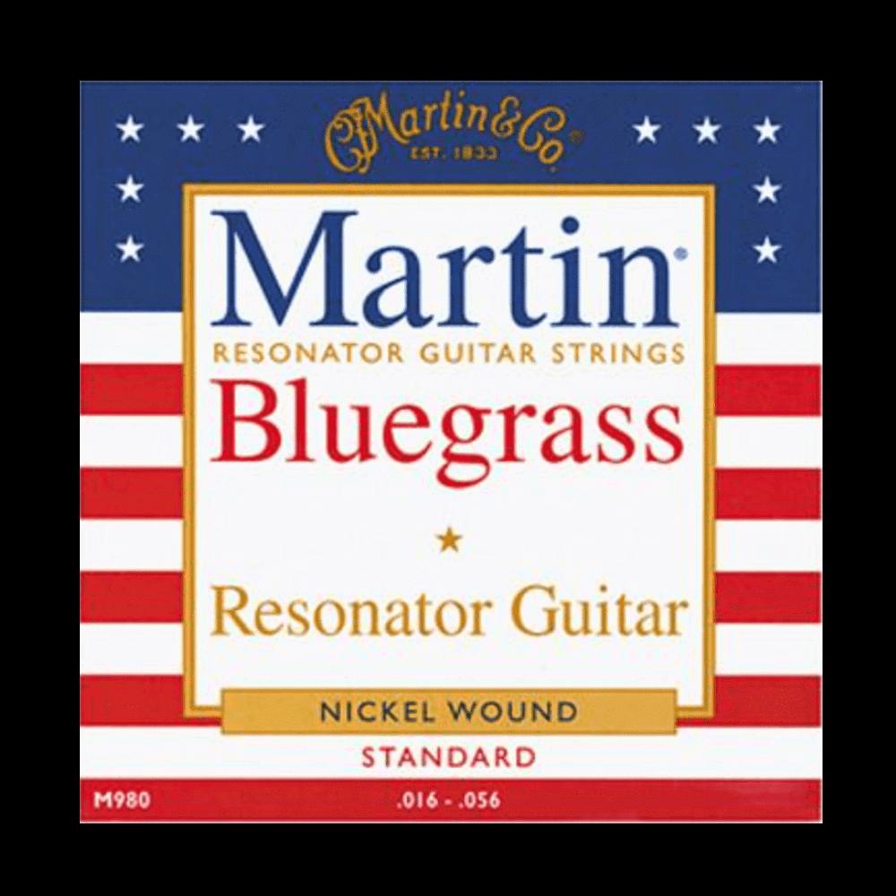 Martin Resonator Guitar Strings Standard .016-.056