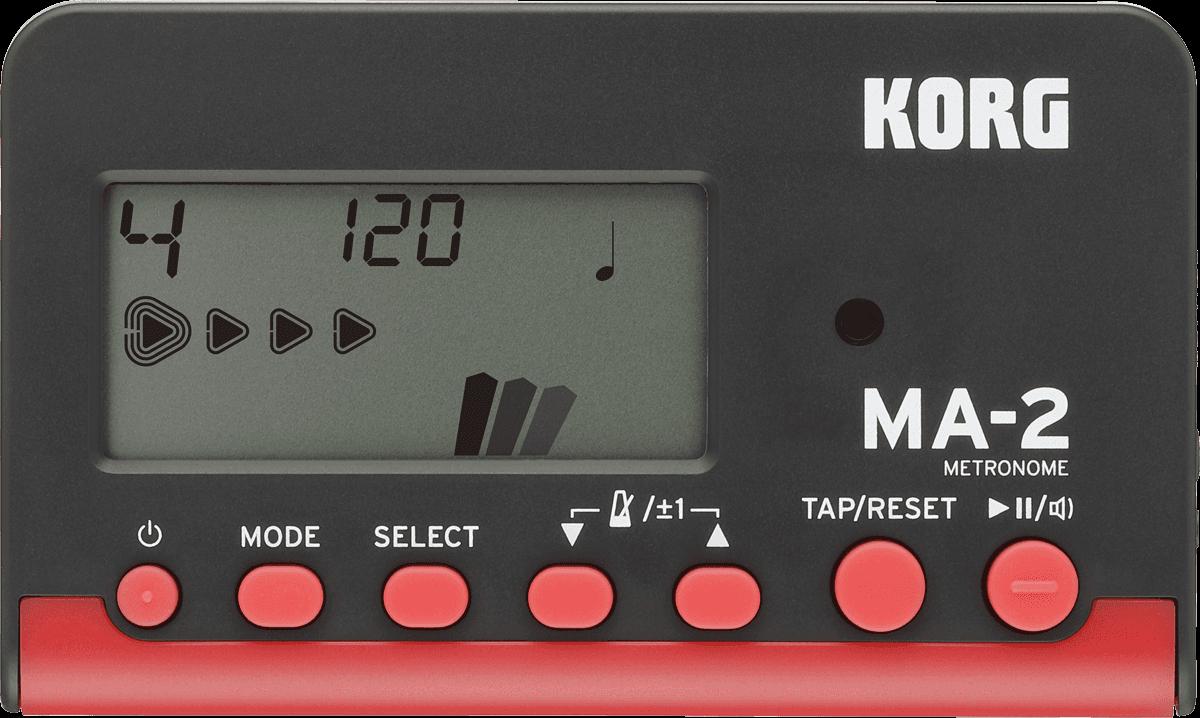 Korg MA-2 Metronome - Red