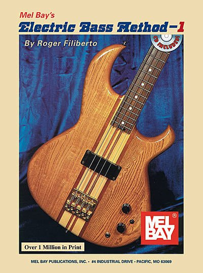 Mel Bay Electric Bass Method Book 1