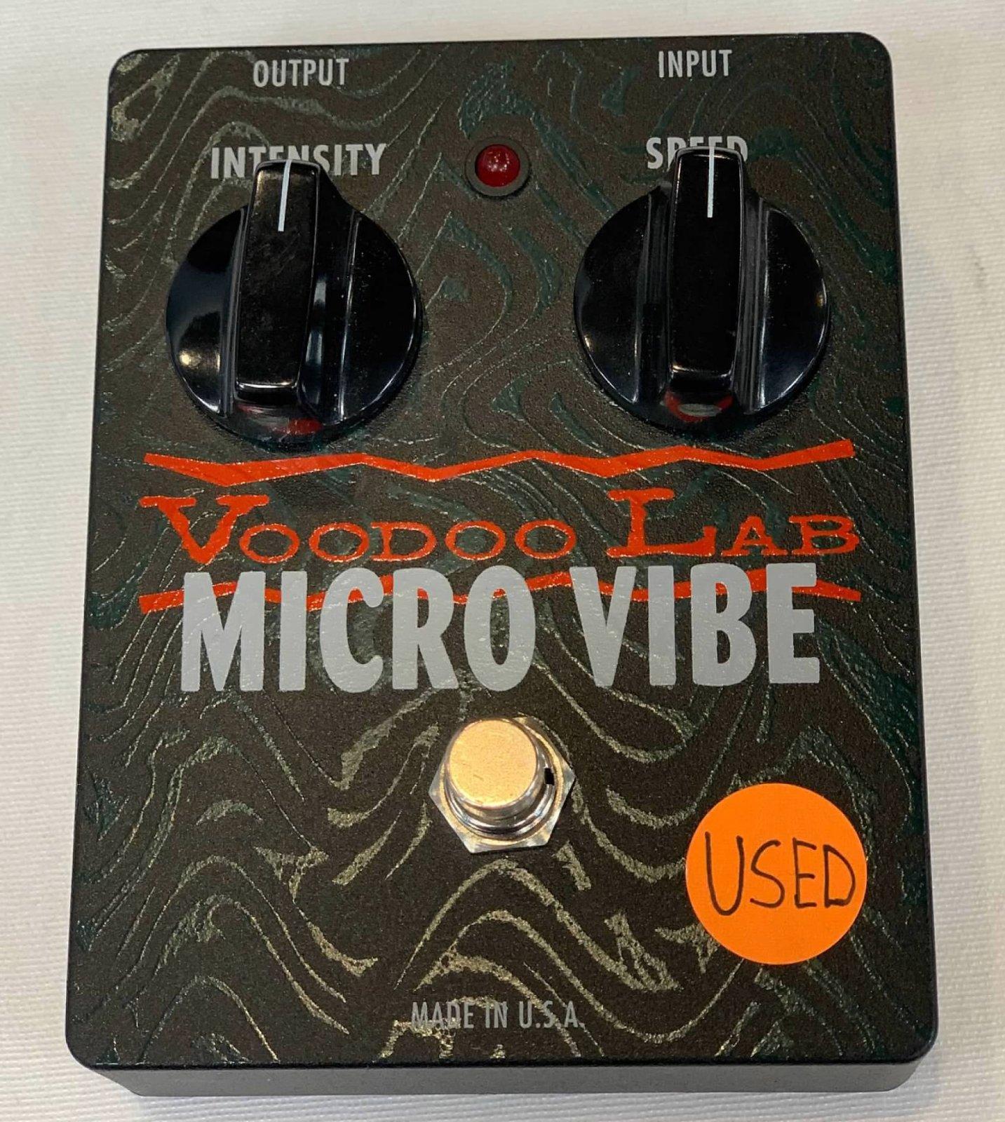 USED Voodoo Lab Micro Vibe Voodoo Lab Micro Vibe Vintage Style Rotary Speaker Pedal