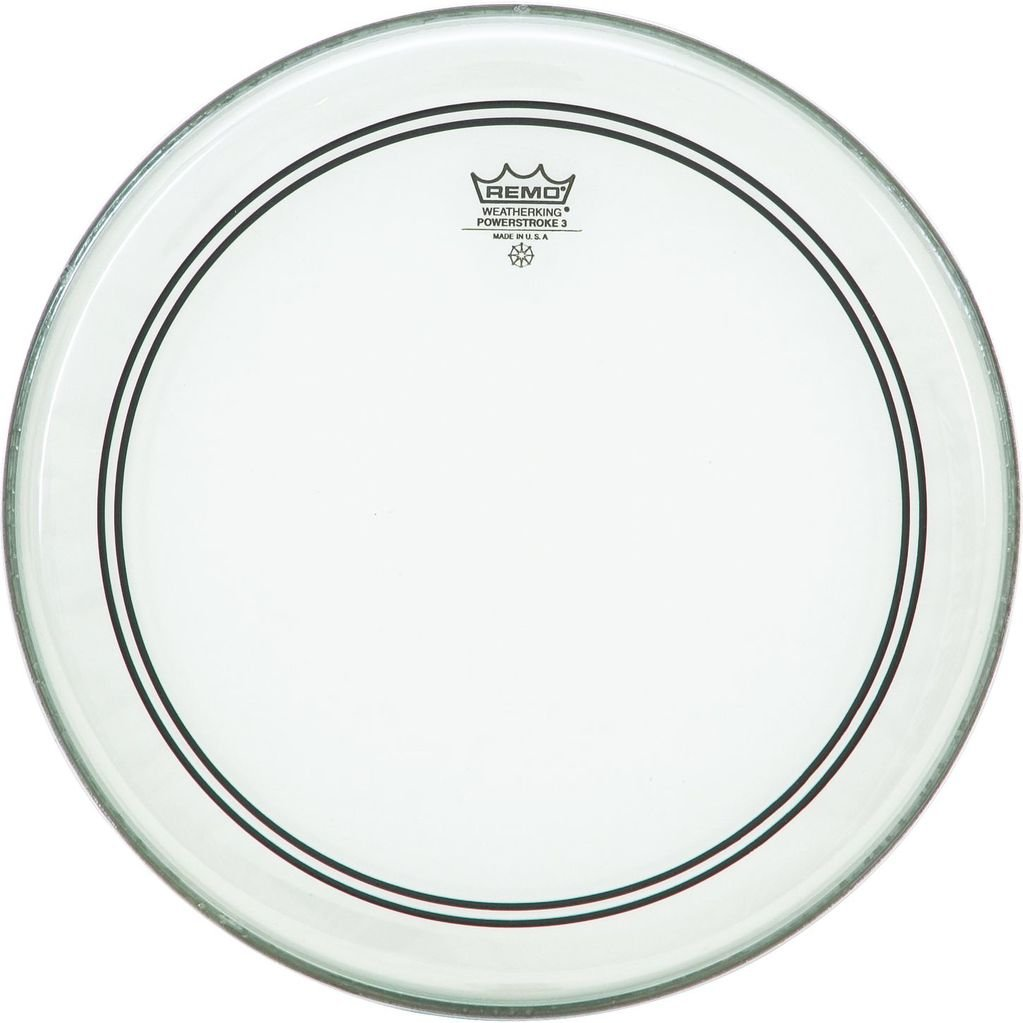 Remo 24 Powerstroke 3 Clear Bass Drum Head