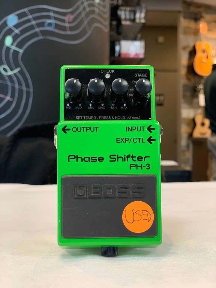USED but LIKE NEW Boss Phase Shifter PH-3