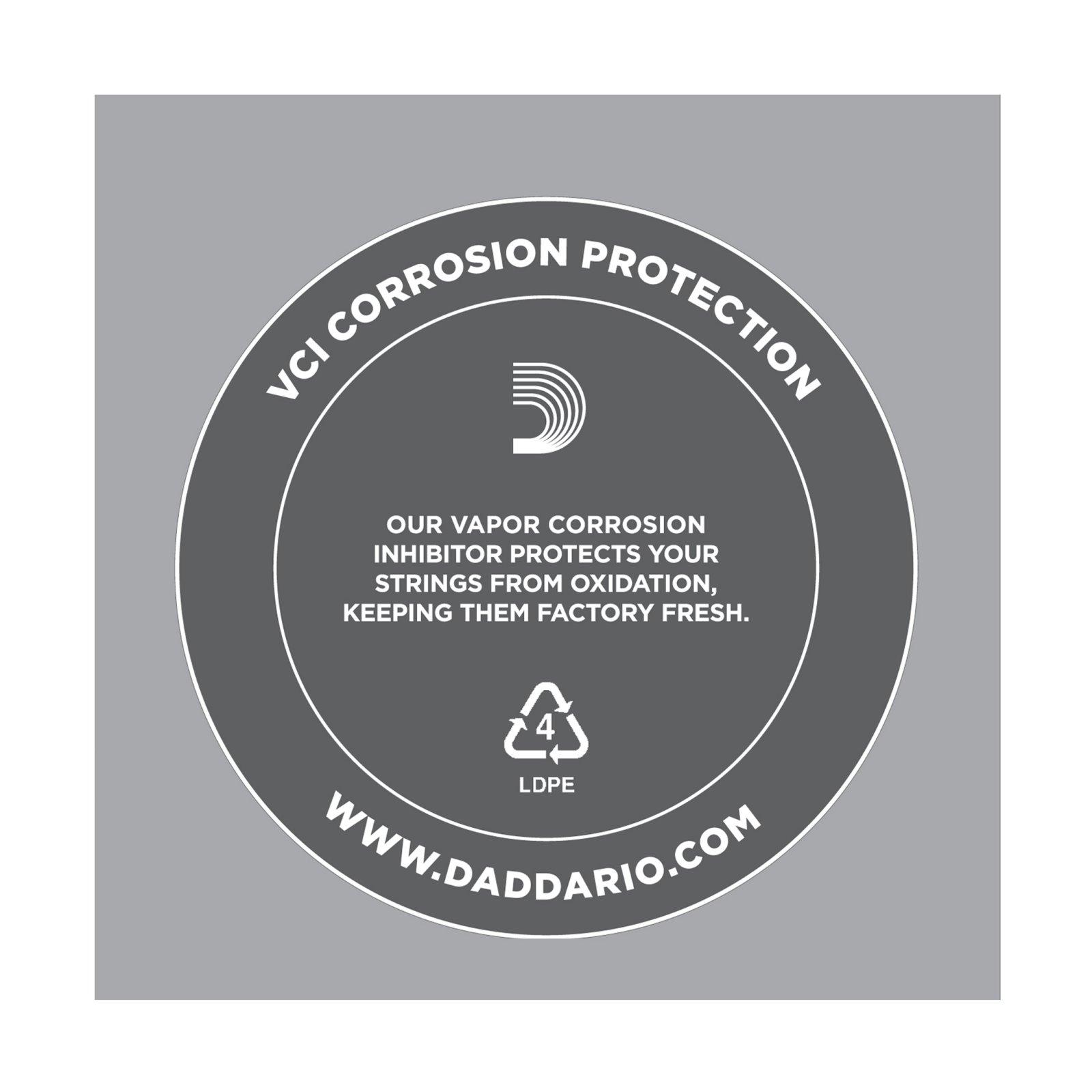 D'Addario .020 Plain Steel Guitar String