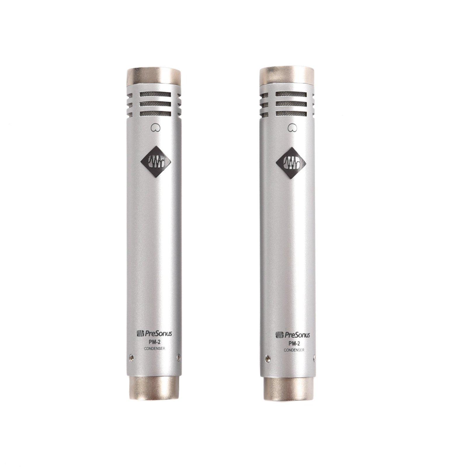 PreSonus PM-2 Small-Diaphragm Condenser Microphones Matched Pair