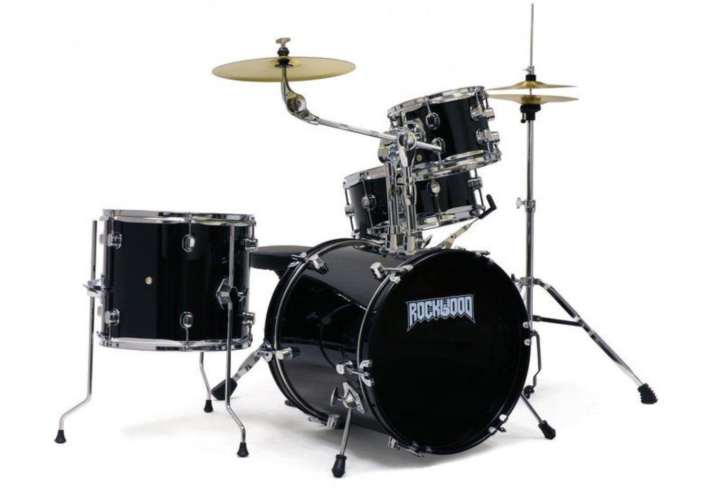 Rockwood Junior Drum Kit Black