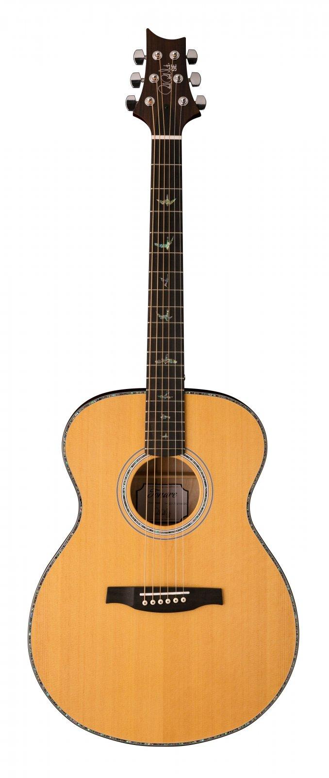 PRS SE T50E Tonare Acoustic/Electric Natural w/Hard Case