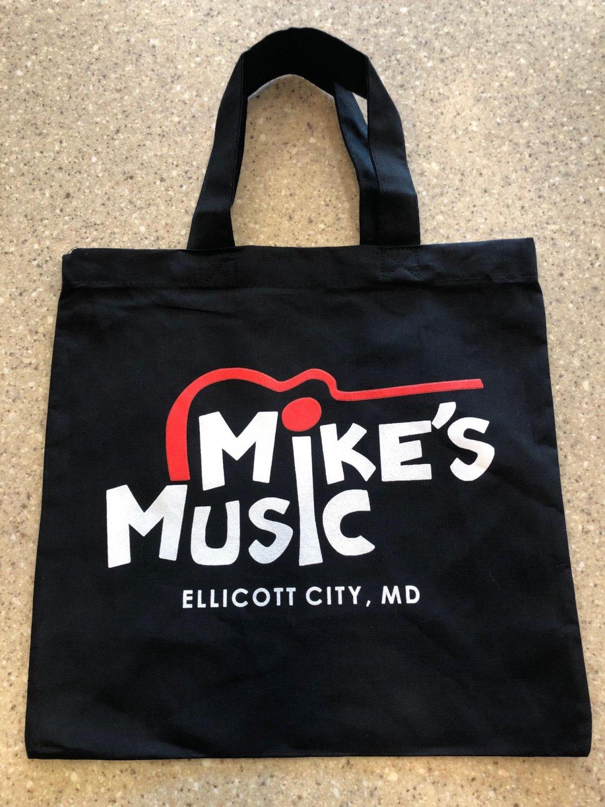 Mike's Music Book Tote Bag